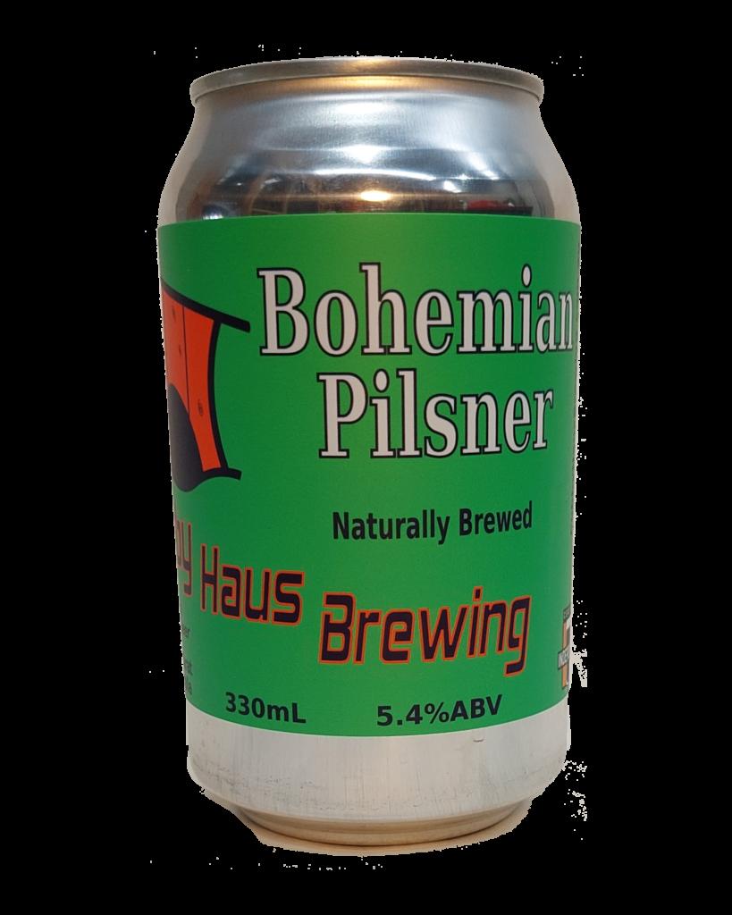 Bohemian Pilsner can