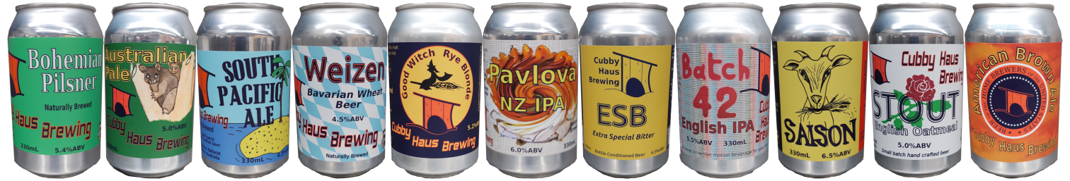 all Cubby Haus cans