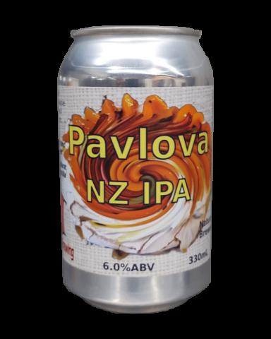pavlova NZ IPA can